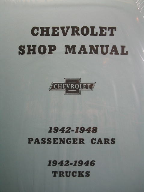 Chevrolet Shop Manual