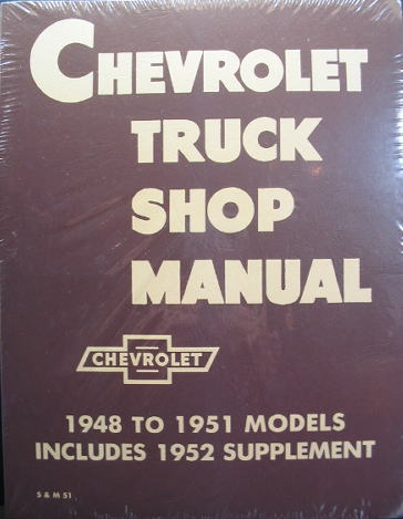 Chevrolet Truck Shop Manual
