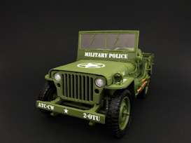 Jeep Willys Police