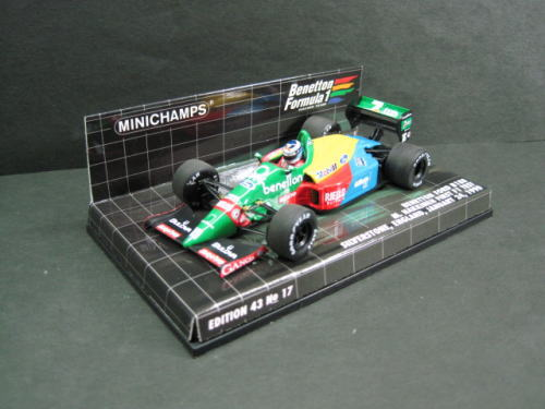 Benetton Ford 1990 Hakkinen