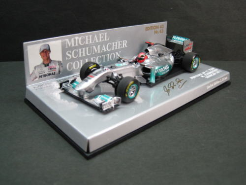 Mercedes F1 2011 Schumacher