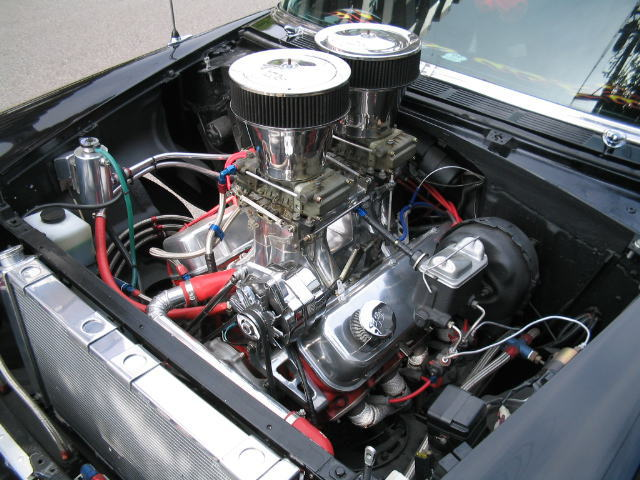 55 Chevy Engine